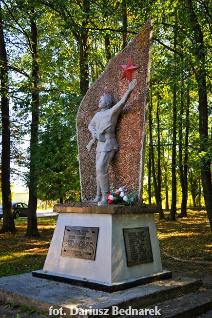 Pomnik Wdzięczności Armii Czerwonej w Dubiczach Cerkiewnych